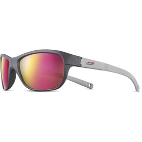 Julbo Player L Spectron 3CF Sunglasses 6-10Y Kinder matt grey/matt light grey/multilayer rosa